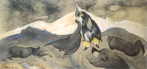 Pocałunek mongolskiego księcia na lodowej pustyni