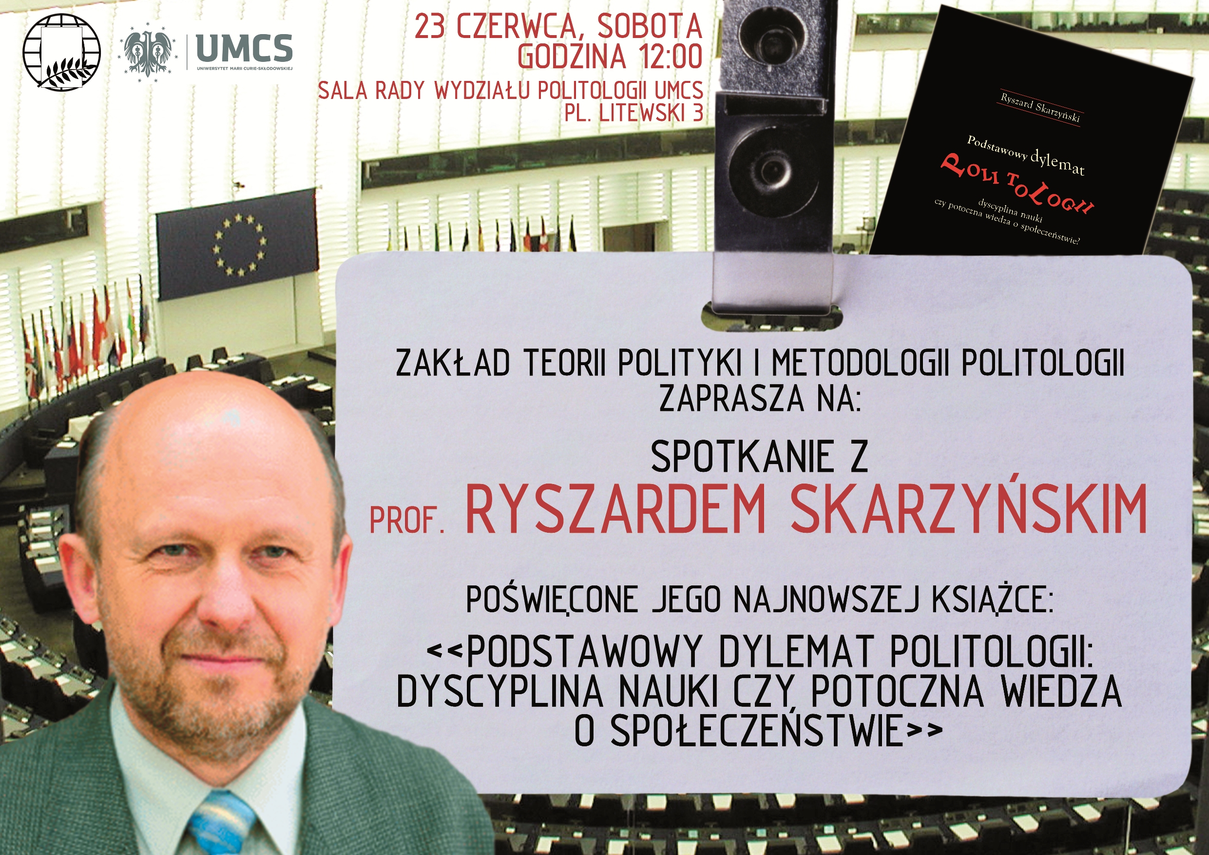 Spotkanie z prof. Ryszardem Skarzyńskim w Lublinie