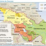 Kaukaz – mapa Ceriscope