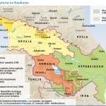 Mapa Kaukazu we współpracy z Ceriscope