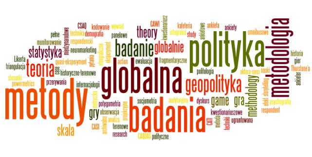 Konferencja pt. Metody badania polityki globalnej – podziękowania