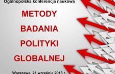 Lista uczestników konferencji pt. Metody badania polityki globalnej