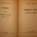 Roman Dmowski: Niemcy, Rosja i kwestia polska. Część 1