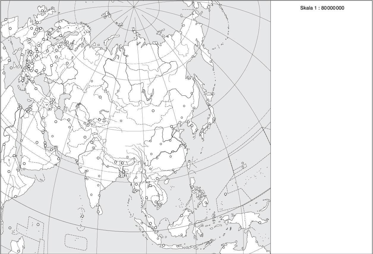 Mapy Konturowe świata Część 2 Geopolitykanet Polski Portal O