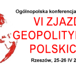 Pozostały trzy dni do zapisu na konferencję naukową VI Zjazd Geopolityków Polskich