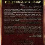 Credo dziennikarza
