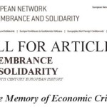 "Call for Articles – ""Remembrance and Solidarity. Studies in 20th Century European History"""