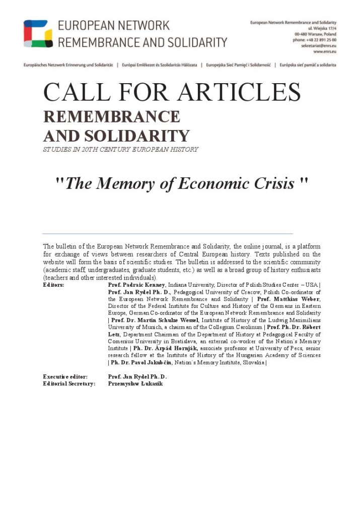 Call for Papers Studies 4
