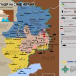 Sytuacja na wschodzie Ukrainy 14-16 lipca 2014 – mapy