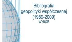 Leszek Sykulski: Bibliografia geopolityki współczesnej