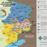 Sytuacja na wschodzie Ukrainy 11 lipca-1 sierpnia 2014 – mapy [ENG]