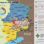 Sytuacja na wschodzie Ukrainy 25-31 lipca 2014 – mapy