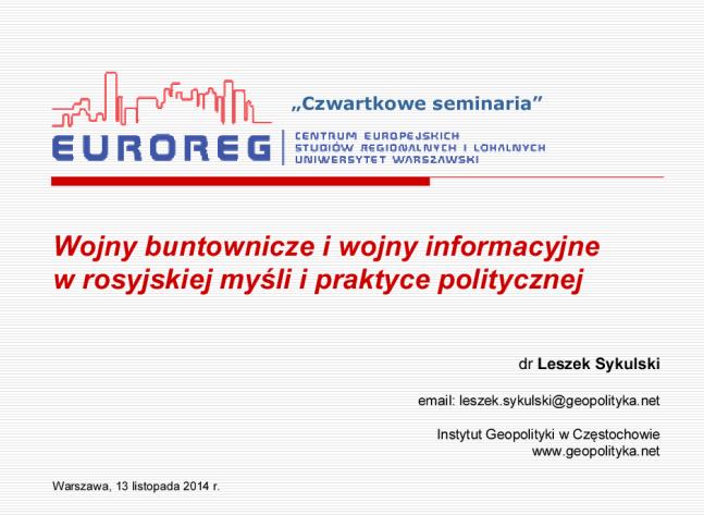 Sykulski_Leszek_prelekcja_UW_13.11
