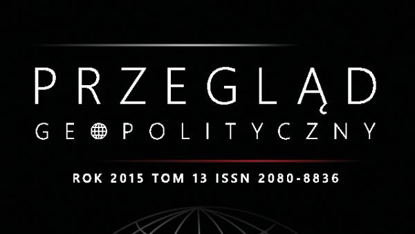 """Przyjmowanie tekstów do kwartalnika """"Przegląd Geopolityczny"""""""