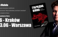Zapowiedź: Jewhen Mahda w Polsce. Autor bestsellerowej książki o wojnach hybrydowych