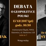 Debata z udziałem dr. Jacka Bartosiaka i dr. Leszka Sykulskiego o polskiej polityce zagranicznej