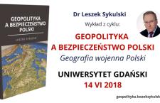 Dr Leszek Sykulski – Wykład na Uniwersytecie Gdańskim 12 VI