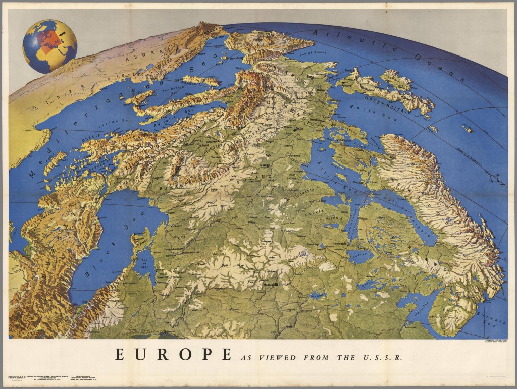 Europa widziana ze Związku Sowieckiego