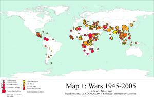 Wars 1945-2005