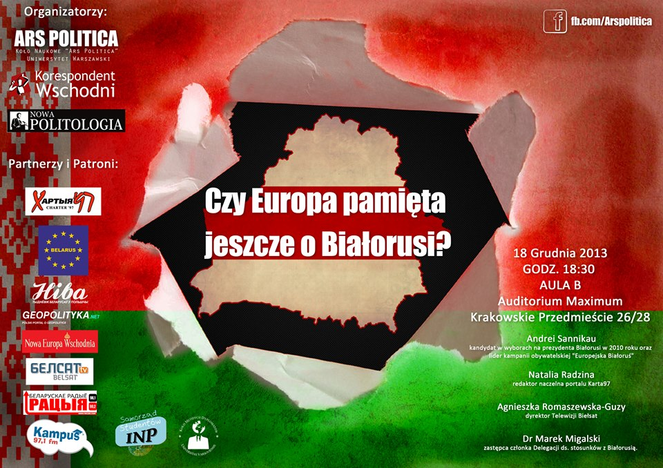 plakat_konferencja_Czy_Europa_pamieta_o_Bialorusi